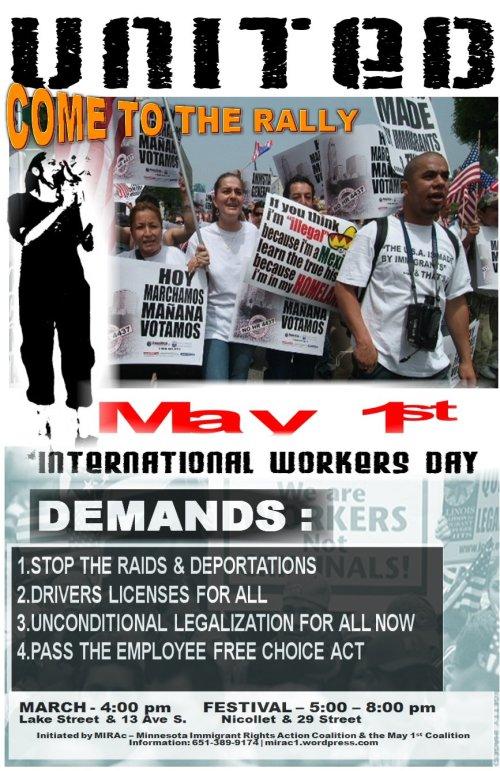 May 1 poster